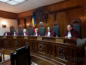 Prima şedinţă publică la Curtea Constituţională